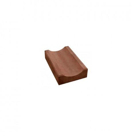 Водосток (узкий, толстый) коричневый