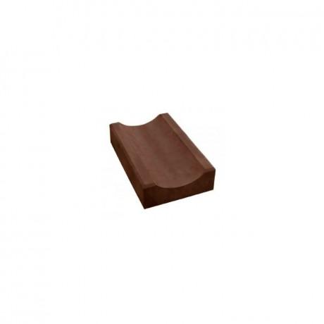 Водосток (широкий, толстый) тёмно-коричневый