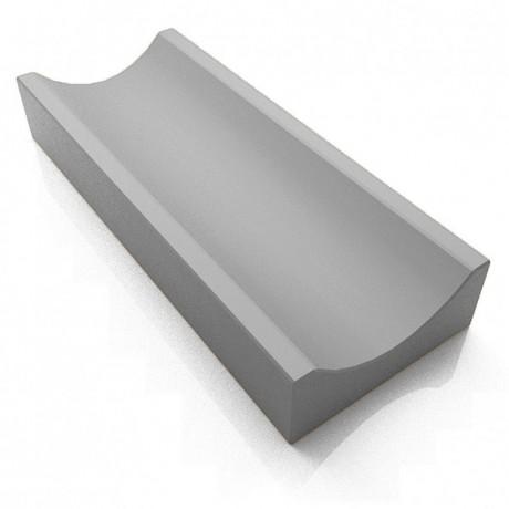 Водосток тротуарный (средний №2) серый