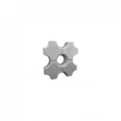 Газонная решетка «ЭКО Соты» серый