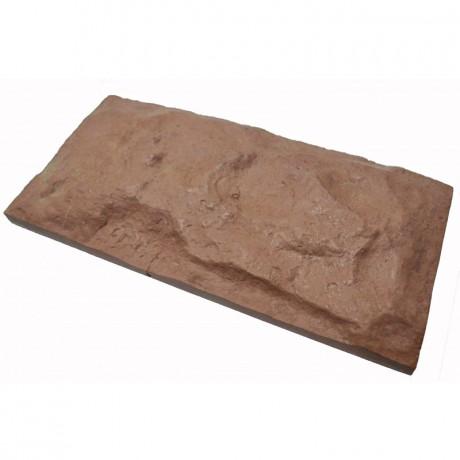 Камень облицовочный Франция коричневый