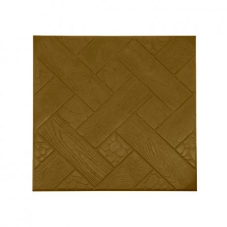 """Квадрат """"Ялта"""" 30x30 см коричневый"""