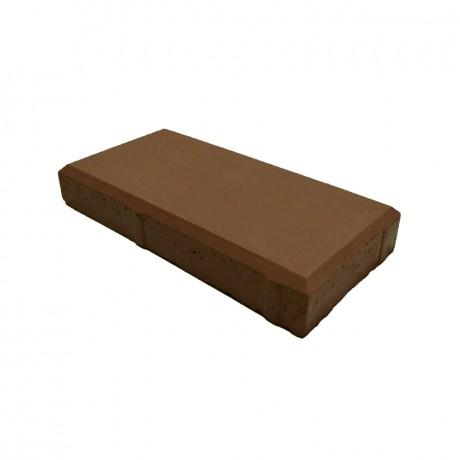 Кирпич тонкий (шагрень) тёмно-коричневый