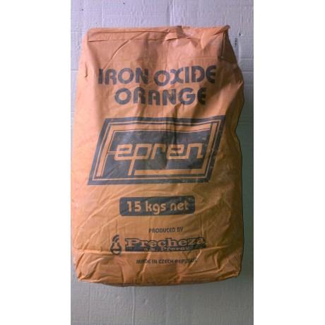 Пигмент оранжевый Fepren (Чехия, 25 кг)