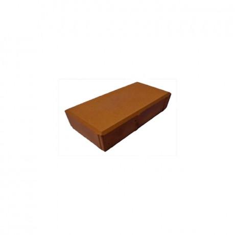 Кирпич (шагрень) коричневый
