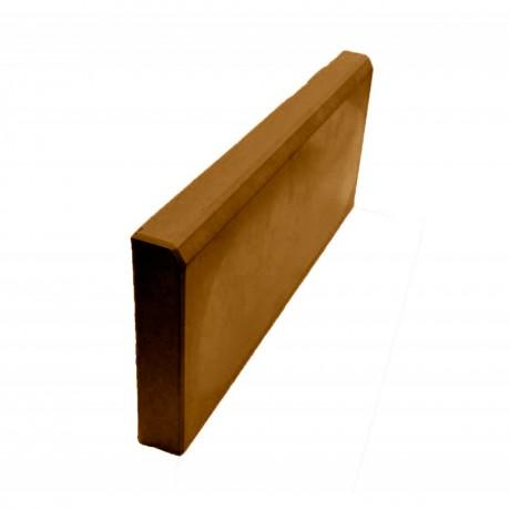 Бордюр тротуарный 500х200х45 мм коричневый