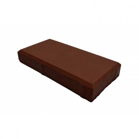 Брусчатка тротуарная Кирпич 200х100х30 тёмно-коричневый