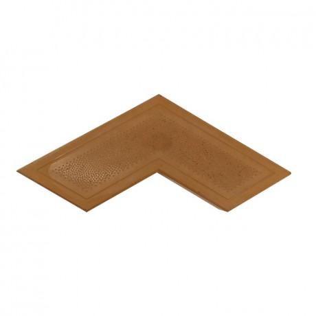 Брусчатка Бумеранг 4.7 см коричневый